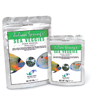 Two Little Fishies Julian Sprung's Sea Veggies, Green Seaweed 30g