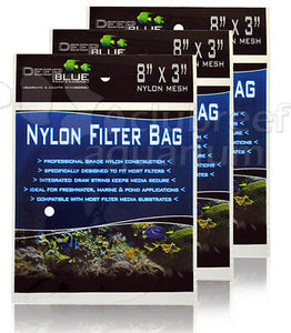 "Deep Blue Professional Nylon Filter Bag 8""x3"" Mesh"