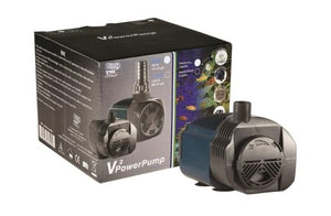 V2 Power Pump 800 700 l/hr Max Head 1.3m 13.5w c/w EU plug