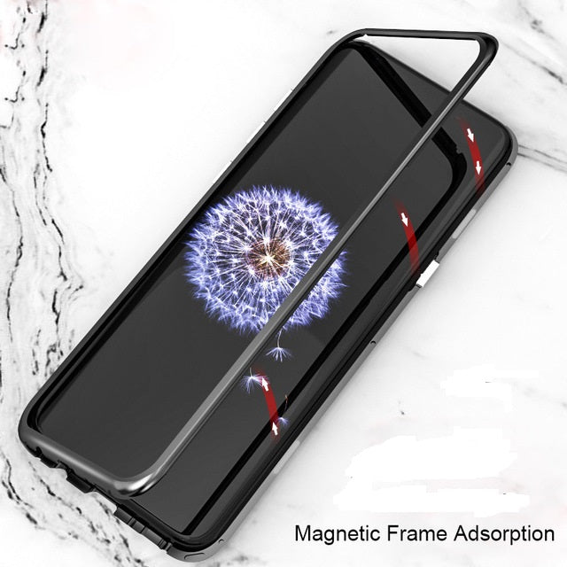 finest selection e84d7 b20a0 GALAXY NOTE 8 LUXURY MAGNETIC ADSORPTION COVER