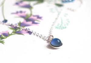 Small Mood Necklace in Sterling Silver