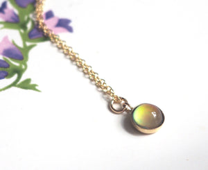 Small Mood Necklace in Gold Filled