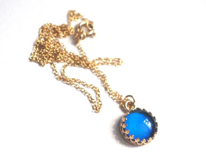 14kt Medium Crown Mood Necklace