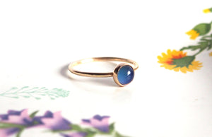 14kt Gold Mini Mood Ring