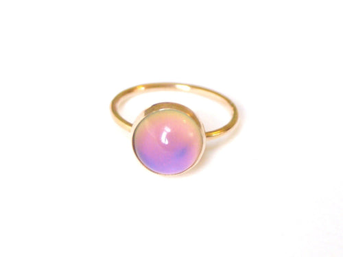 14kt Gold Medium Mood Ring
