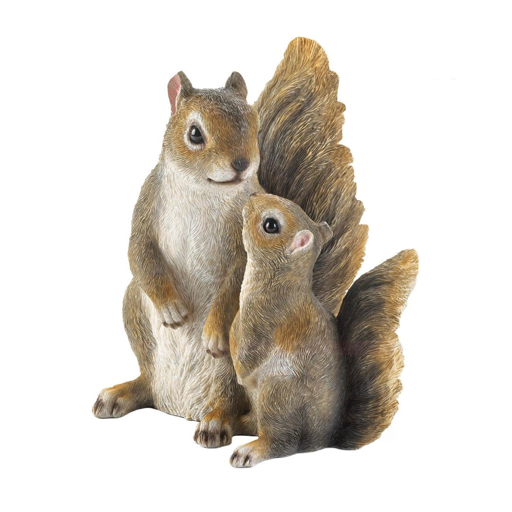 Mommy & Me Squirrel Figurine