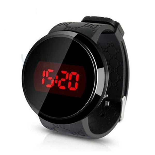 LED Touch Screen Digital Watch Unisex