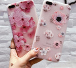 Flower Patterned Case for iPhone 6/7/8/X