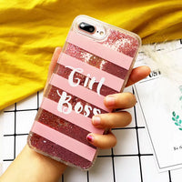 Pink Glitter Phone Case for iPhone 6/7/8