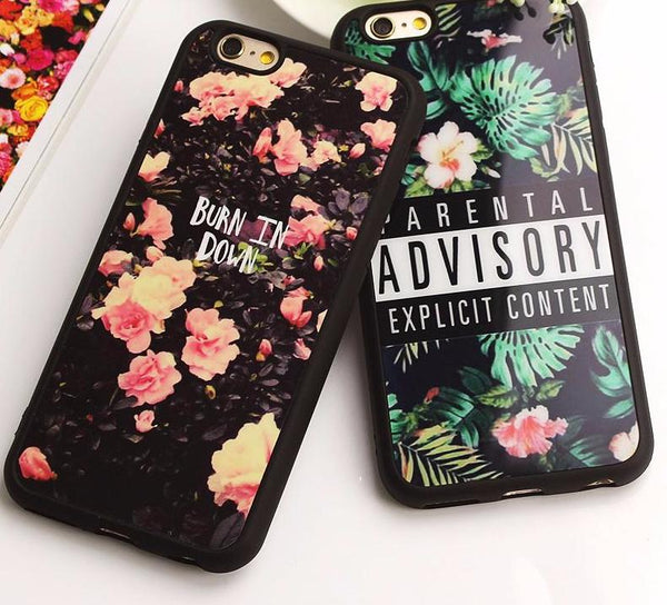 Floral Phone Case for iPhone 6/7/8/X