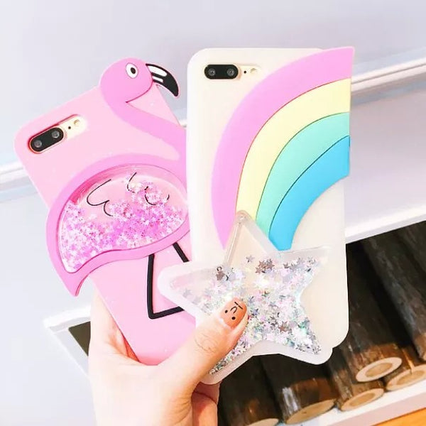 3D Glitter 2 Phone Case for iPhone 6/7/8