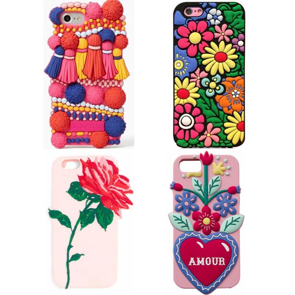 Tassel and Flower Phone Case for iPhone 6/7/8