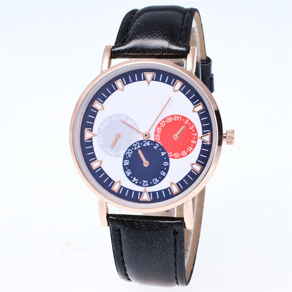 Krista Leather Watch
