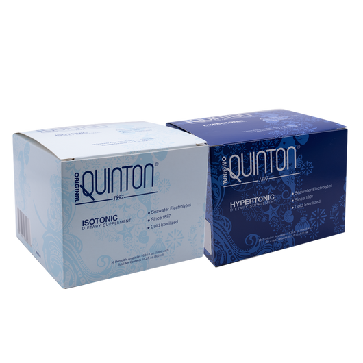 Original Quinton Isotonic and Hypertonic Dual Bundle