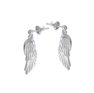 Angel wing studs for baby loss and awarenesses