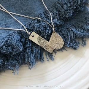 Fingerprint jewellery nz