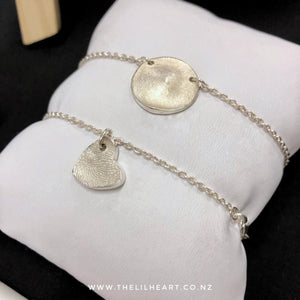 sterling silver fingerprint jewellery nz made