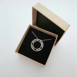 Eternal Love Pendant - Personal name necklace.