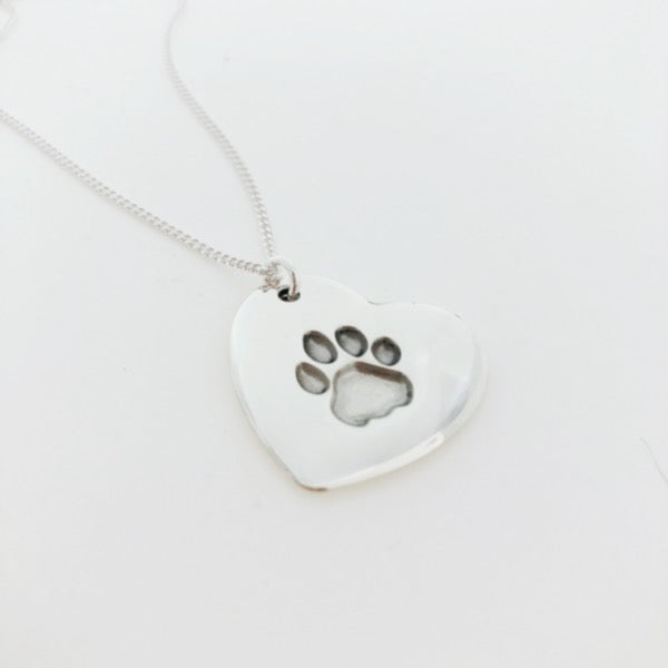 pet paw print jewellery nz