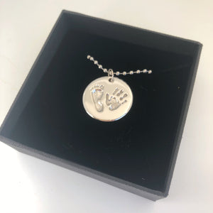 custom handprint keepsake jewellery nz made
