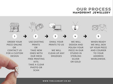 how to order nz made hand and footprint jewellery