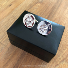 pet paw print jewellery and cufflinks nz made