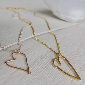 rose gold jewellery made from your drawings children's art