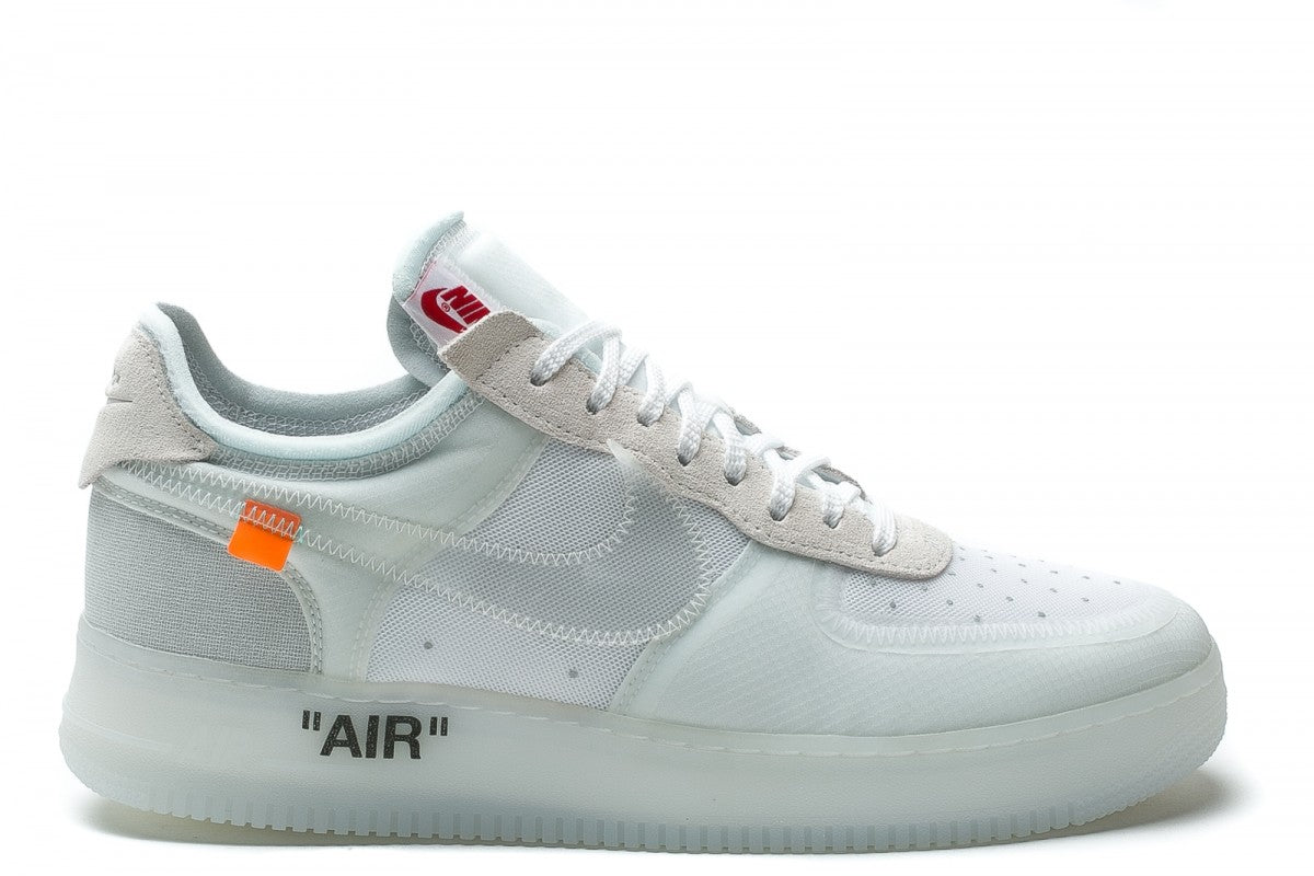 the 10 air force 1 low off white