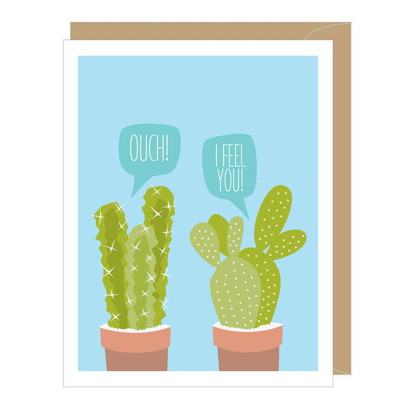 Cactus Get Well Card
