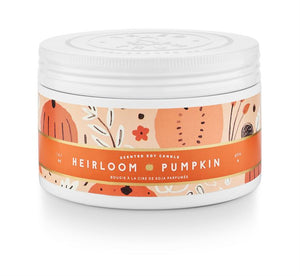 Heirloom Pumpkin Large Tin Candle