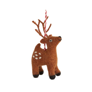 Trudy the Reindeer Ornament - New