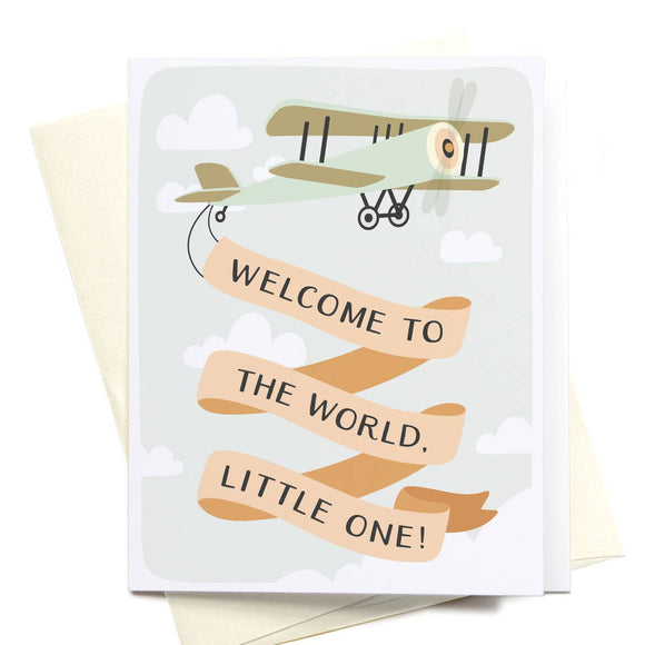 Welcome to the World, Little One Card