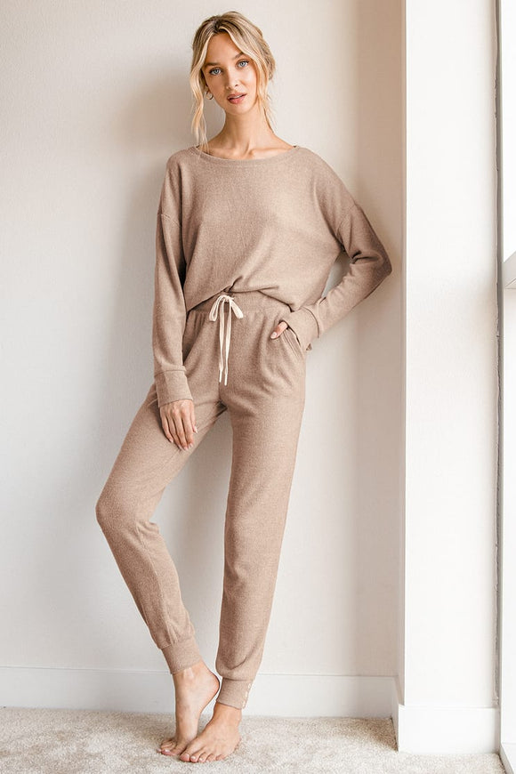 Cocoa Lounge/Jogger Set