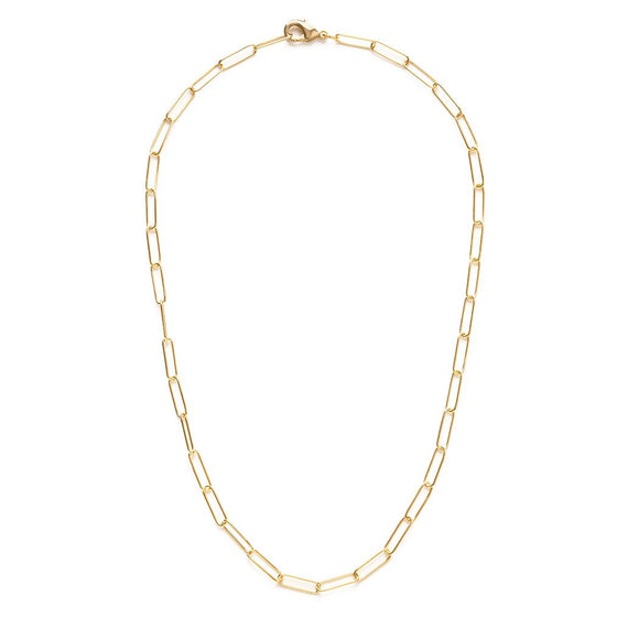 Paperclip Chain necklace - Best Seller