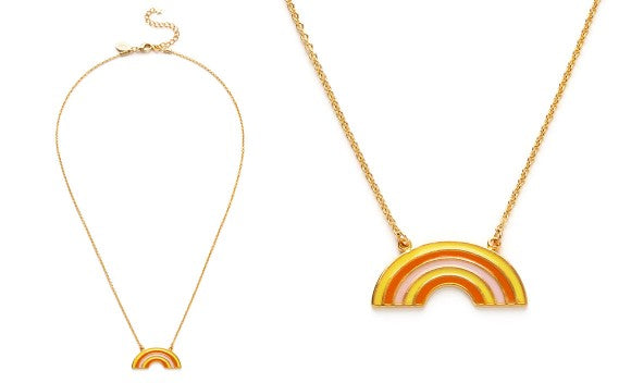 Retro Rainbow Necklace - Best Seller