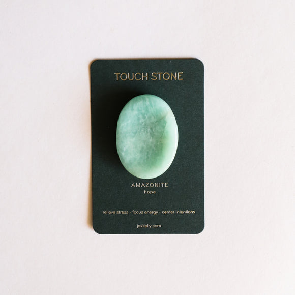 Amazonite Touch Stone - New
