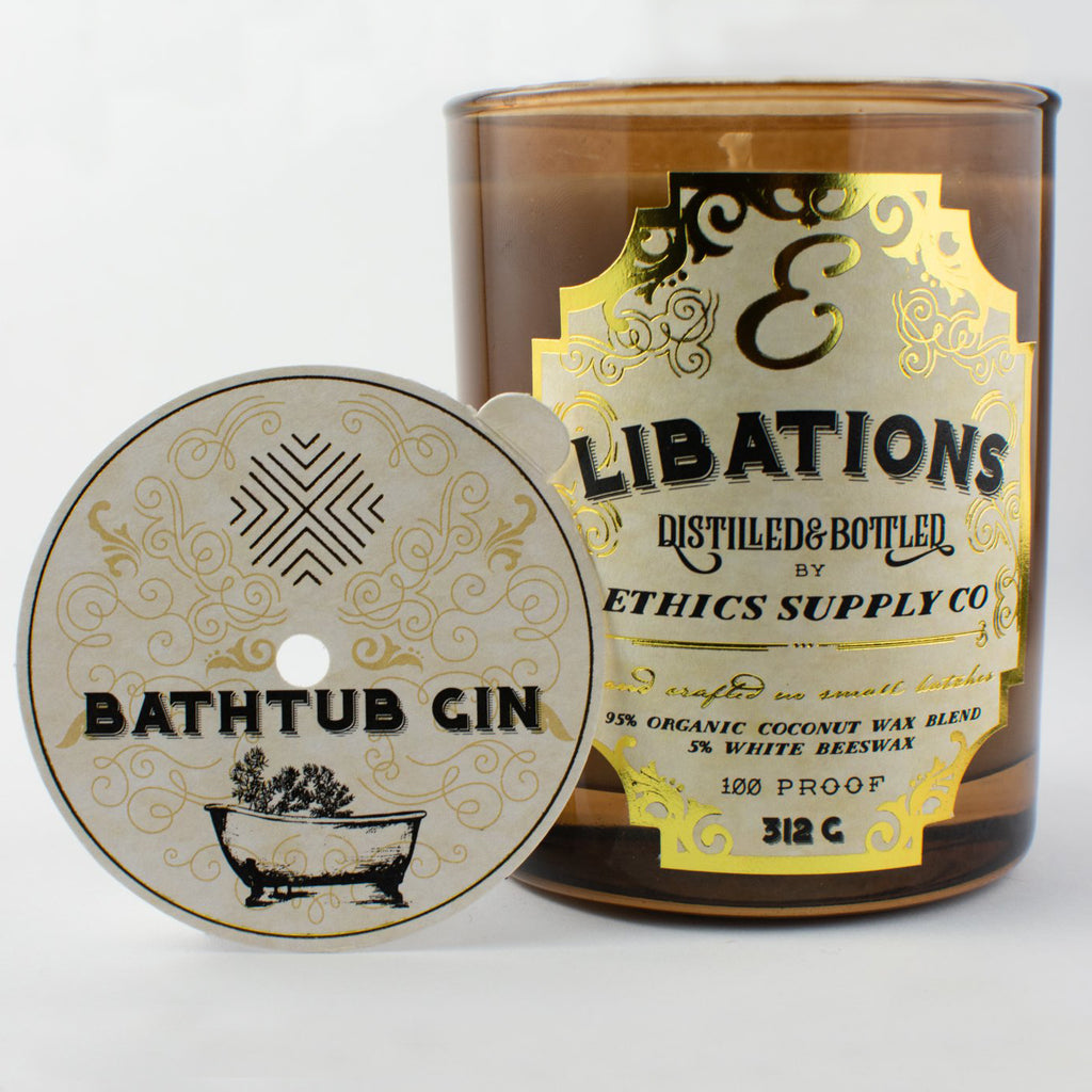 Libation's Bathtub Gin Candle