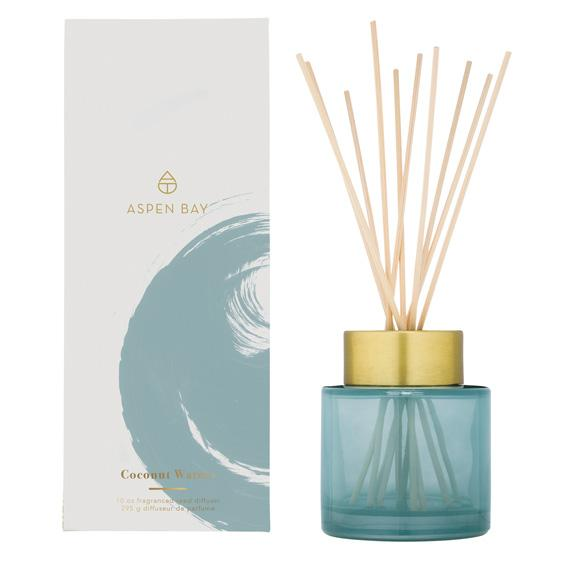 Tinted Glass Jar Reed Diffuser