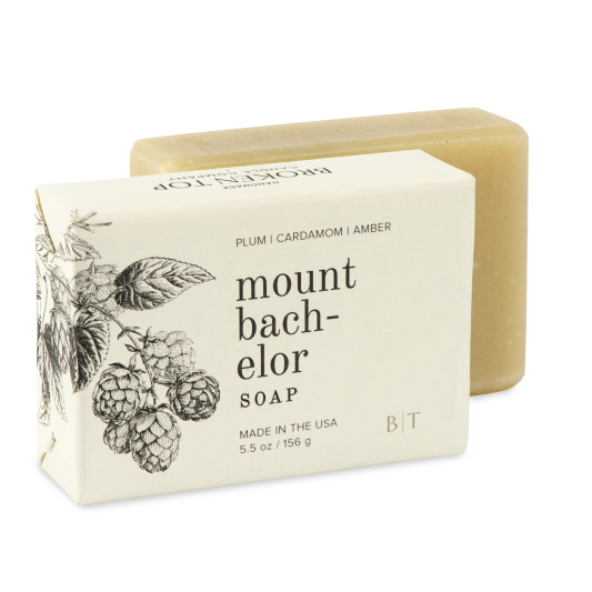 Mount Bachelor Bar Soap - New