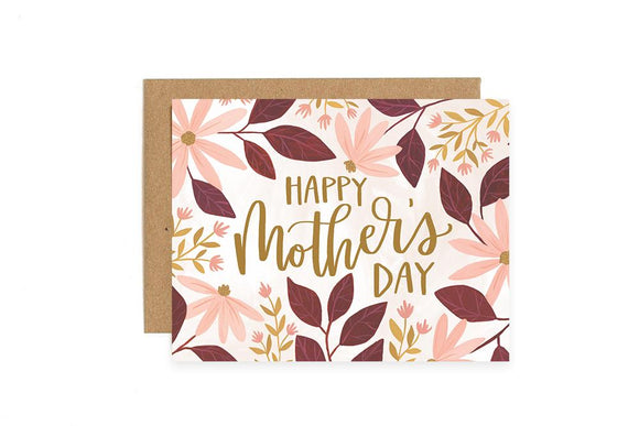 Coneflower Mother's Day Card