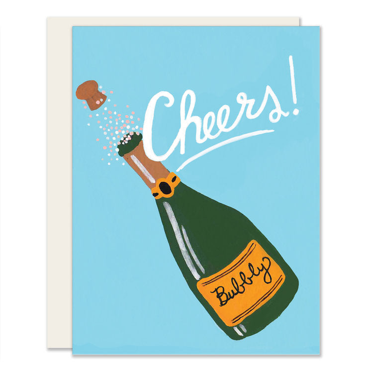 champagne cheers card fleurt collective