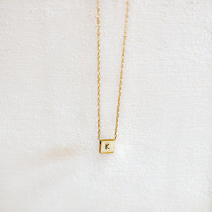 Custom Letter Necklace