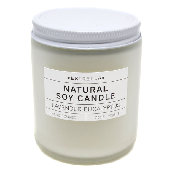 Lavender Eucalyptus Candle - New