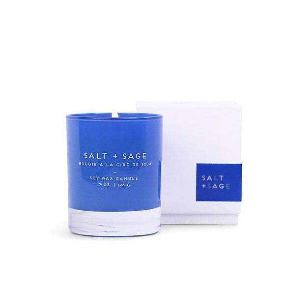 Boxed Salt & Sage Candle
