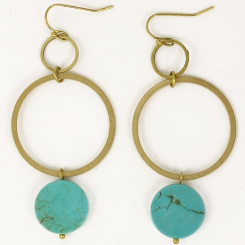 Earrings at Fleurt Collective, West Seattle Gift Shop