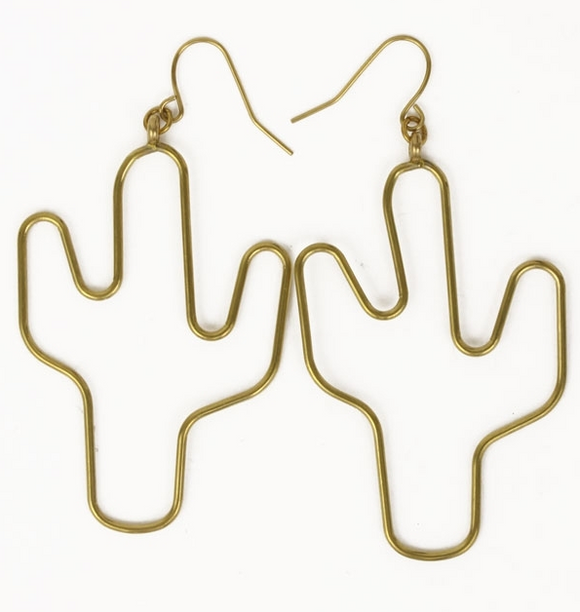 Cacti Dangle Earrings