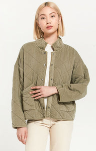 Sage Mia Quilted Jacket