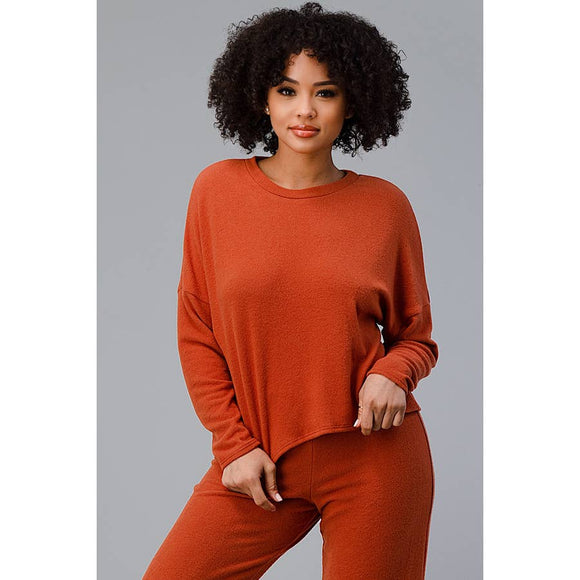 Loungewear Set Terracotta - New