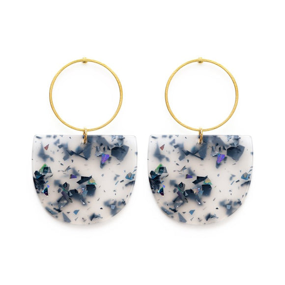 Mod Glitter Earrings - Best Seller