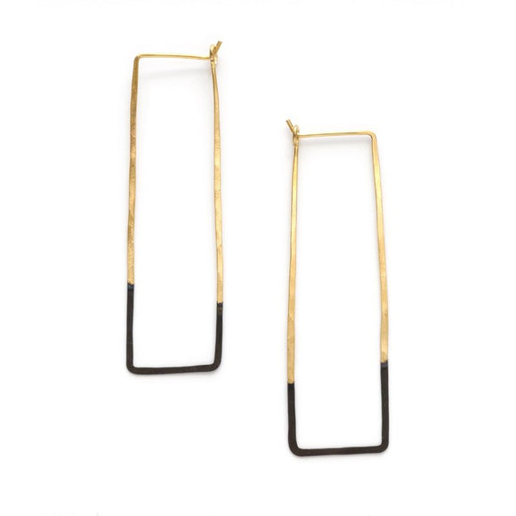 Mired Rectangle Earrings